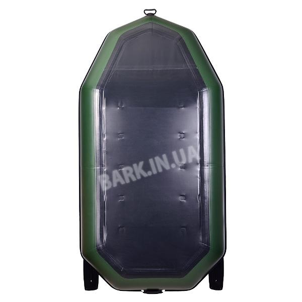 Надувная лодка bark b 270np двухместная с
